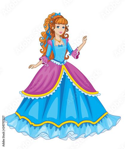 Beautiful fairytale Elf princess Canvas Print
