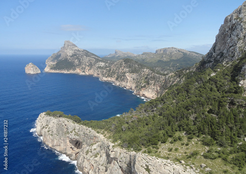 Fotografie, Obraz  Cape Formentor peninsula on Mallorca island - Spain