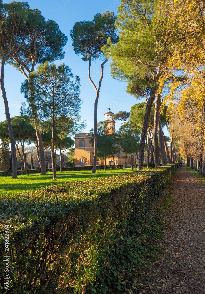 Photo Art Print Rome Italy The Villa Borghese