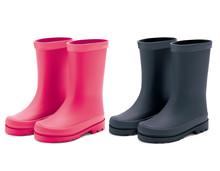 Waterproof Rain Rubber Boots Set. Realistic Vector 3d Illustrati