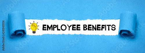 Fototapeta Employee Benefits obraz