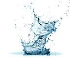 Fototapeta Fototapety do łazienki - Blue water splash
