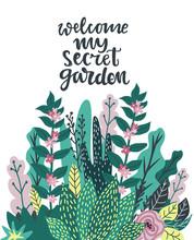 My Secret Garden Hand Written ...