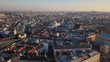 City center of Vienna. Aerial view