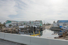 Marina Destroyed Debris And De...