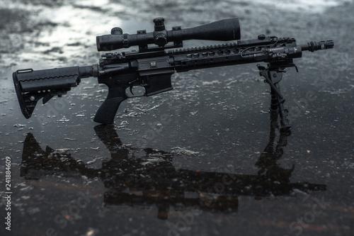 assault rifle firearm