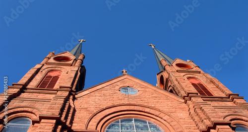 Fényképezés Crosses Pointing to Heaven