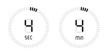 Timer Countdown With Minutes A...