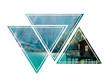 Drei Dreiecke am Pragser Wildsee