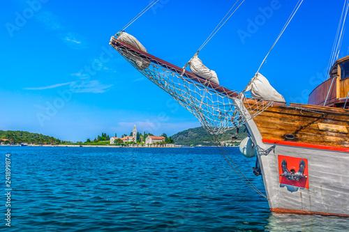Fotografie, Obraz  Vis landscape island Croatia