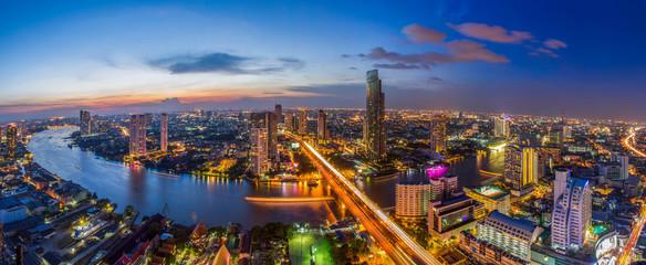 Bangkok, grad Chao Phraya