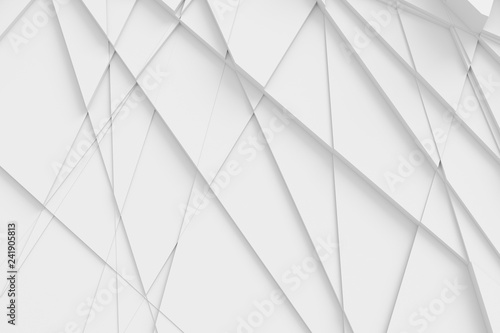 Photo Background of many cracked three-dimensional forms at different heights from eac