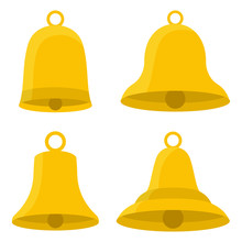 Set Of Bells Vector Design Ill...