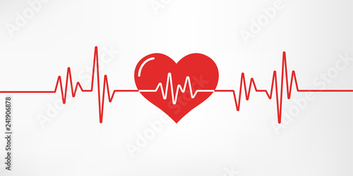 Heart pulse Canvas-taulu