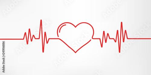 Valokuvatapetti Heart pulse