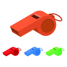 Whistle Vector Design Illustra...