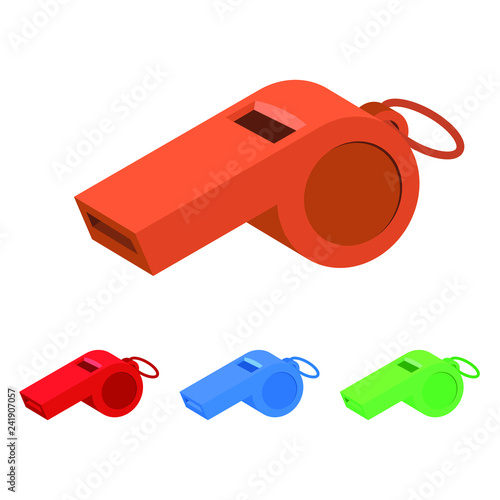 Whistle vector design illustration Canvas-taulu