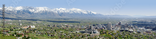 Salt Lake City, Utah Wallpaper Mural