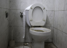 Toilet Dirty Unhygienic