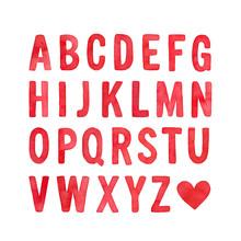 English Alphabet Capital Lette...