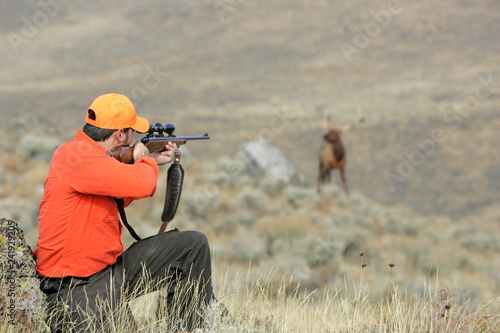 Hunting Big Game Fototapet