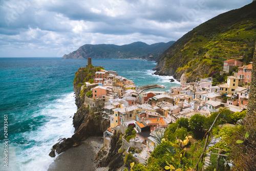 In de dag Europa Vernazza, Cinque Terre, Liguria, Italy