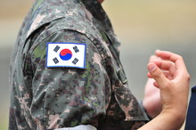 Republic Of Korea Army Soldier...