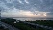 Sunrise Timelapse in La Boquilla, Cartagena Overlooking The Tesca Swamp And Highway 90A