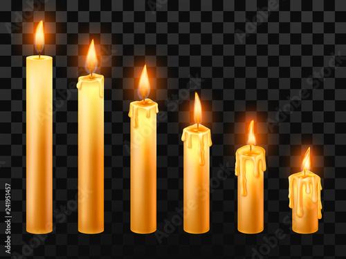 Fotografiet  Burning candle