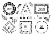 Tribal Frames. American Indian...