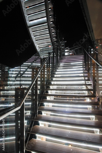 Fotografie, Obraz  빛의 계단 2