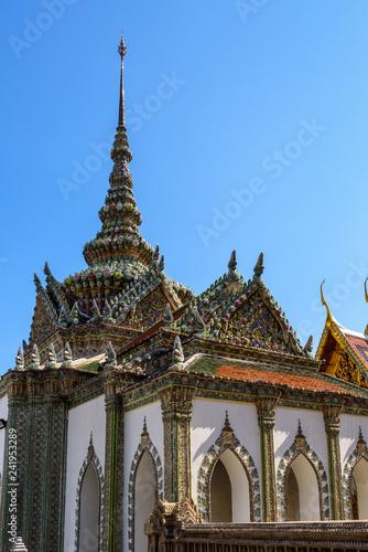 Foto  Wat Pho temple bangkok Thailand