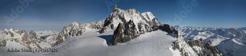 In de dag Europa Massiccio del Monte Bianco
