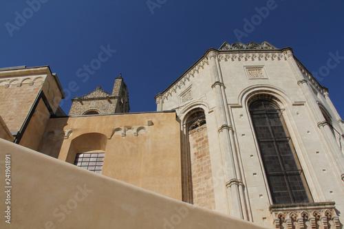 Fotografie, Obraz  vista esterna del transetto destro della Basilica di Santa Caterina d'Alessandri