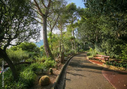 St Martins Garden on the Rocher in Monaco-Ville, Monaco