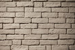 Texture of an old brick wall. Background of white bricks.