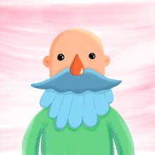 Señor Calvo Y Con Barba