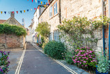 Fototapeta Uliczki - Typical photos of the city of Lymington on the Isle of Wight in UK.