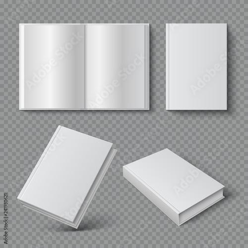 Fotografie, Obraz  Realistic book cover