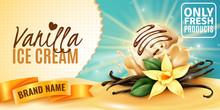 Vanilla Ice Cream Ad