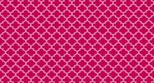 Pink Quatrefoil Background