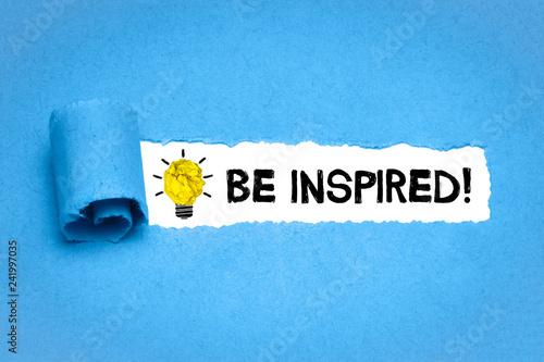 Fényképezés  Be Inspired!
