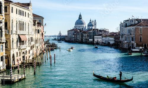 Stickers pour porte Venise Venezia