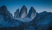 Tre Cime Di Lavaredo Mountain ...