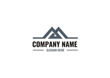 Letter M Logo Concept With Continuous Line