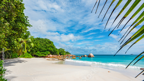Fotografie, Obraz  Paradise beach at anse lazio on the seychelles 61