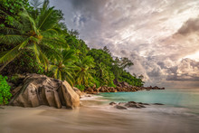 Paradise Beach At Anse Georget...