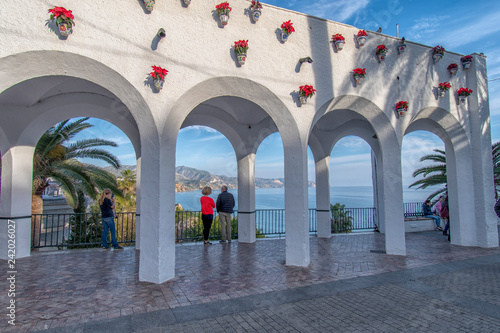 Fototapeta beautiful places in andalusia spain - Balcony of Europe