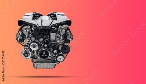 Fotografia Car engine