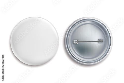 Fotografie, Obraz  Pin badges